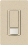 Lutron MS-VPS2-ST Maestro Vacancy Sensor with Switch Single Pole 120V / 2A in Stone