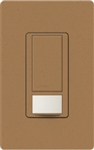 Lutron MS-VPS2-TC Maestro Vacancy Sensor with Switch Single Pole 120V / 2A in Terracotta