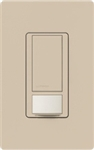 Lutron MS-VPS2-TP Maestro Vacancy Sensor with Switch Single Pole 120V / 2A in Taupe