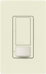 Lutron MS-VPS5M-BI Maestro Switch with Vacancy Sensor Multi Location 120V / 5A in Biscuit