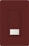 Lutron MS-VPS5M-MR Maestro Switch with Vacancy Sensor Multi Location 120V / 5A in Merlot