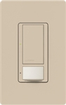Lutron MS-VPS5M-TP Maestro Switch with Vacancy Sensor Multi Location 120V / 5A in Taupe