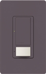 Lutron MS-VPS6M2-DV-PL Maestro Switch with Vacancy Sensor Dual Voltage 120V-277V / 6A Multi Location in Plum