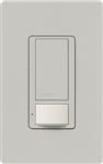 Lutron MS-VPS6M2N-DV-PD Maestro Switch with Vacancy Sensor Dual Voltage 120V-277V / 6A Multi Location, Neutral Wire Required, in Palladium