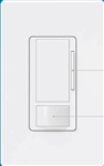 Lutron MS-Z101-SW Maestro 0-10V Dimmer and Occupancy/Vacancy PIR Sensor, single pole/multi-location, 120-277V in Snow White