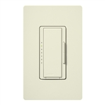Lutron MSC-600H-BI Maestro Satin 600W Incandescent / Halogen Multi Location Dimmer in Biscuit