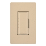Lutron MSC-600H-DS Maestro Satin 600W Incandescent / Halogen Multi Location Dimmer in Desert Stone