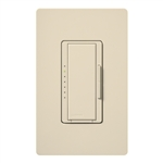 Lutron MSC-600H-ES Maestro Satin 600W Incandescent / Halogen Multi Location Dimmer in Eggshell