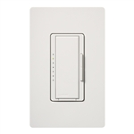 Lutron MSC-600H-SW Maestro Satin 600W Incandescent / Halogen Multi Location Dimmer in Snow