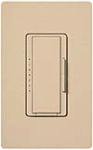 Lutron MSC-600M-DS Maestro Satin 600W Incandescent / Halogen Multi Location Dimmer in Desert Stone