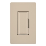 Lutron MSC-AD-277-TP Maestro Satin 277V Digital Companion Dimmer in Taupe