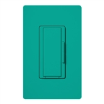 Lutron MSC-AD-277-TQ Maestro Satin 277V Digital Companion Dimmer in Turquoise