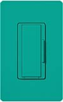 Lutron MSC-AD-TQ Maestro Satin Companion Dimmer in Turquoise