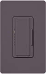 Lutron MSCF-6AM-277-PL Maestro Satin 277V / 6A Fluorescent 3-Wire / Hi-Lume LED Multi Location Dimmer in Plum