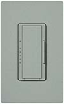 Lutron MSCF-6AM-BG Maestro Satin 120V / 6A Fluorescent 3-Wire / Hi-Lume LED Multi Location Dimmer in Bluestone