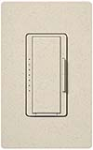 Lutron MSCF-6AM-LS Maestro Satin 120V / 6A Fluorescent 3-Wire / Hi-Lume LED Multi Location Dimmer in Limestone