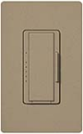 Lutron MSCF-6AM-MS Maestro Satin 120V / 6A Fluorescent 3-Wire / Hi-Lume LED Multi Location Dimmer in Mocha Stone