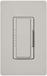 Lutron MSCF-6AM-PD Maestro Satin 120V / 6A Fluorescent 3-Wire / Hi-Lume LED Multi Location Dimmer in Palladium