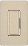 Lutron MSCF-6AM-ST Maestro Satin 120V / 6A Fluorescent 3-Wire / Hi-Lume LED Multi Location Dimmer in Stone