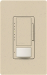 Lutron MSCL-OP153M-ST Maestro CL Occupancy Sensor (Auto-ON/OF or Manual ON/Auto-OFF) and Dimmer, 600W Incandescent, 150W CFL or LED Single Pole / Multi Location Dimmer in Stone