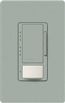 Lutron MSCL-OP153MH-BG Maestro CL Occupancy Sensor (Auto-ON/OF or Manual ON/Auto-OFF) and Dimmer, 600W Incandescent, 150W CFL or LED Single Pole / Multi Location Dimmer in Bluestone