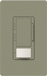 Lutron MSCL-OP153MH-GB Maestro CL Occupancy Sensor (Auto-ON/OF or Manual ON/Auto-OFF) and Dimmer, 600W Incandescent, 150W CFL or LED Single Pole / Multi Location Dimmer in Greenbriar