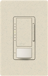 Lutron MSCL-OP153MH-LS Maestro CL Occupancy Sensor (Auto-ON/OF or Manual ON/Auto-OFF) and Dimmer, 600W Incandescent, 150W CFL or LED Single Pole / Multi Location Dimmer in Limestone