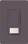 Lutron MSCL-OP153MH-PL Maestro CL Occupancy Sensor (Auto-ON/OF or Manual ON/Auto-OFF) and Dimmer, 600W Incandescent, 150W CFL or LED Single Pole / Multi Location Dimmer in Plum
