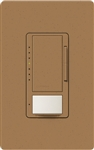 Lutron MSCL-OP153MH-TC Maestro CL Occupancy Sensor (Auto-ON/OF or Manual ON/Auto-OFF) and Dimmer, 600W Incandescent, 150W CFL or LED Single Pole / Multi Location Dimmer in Terracotta