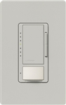 Lutron MSCL-VP153M-PD Maestro CL Vacancy Sensor (Manual ON/Auto-OFF) and Dimmer, 600W Incandescent, 150W CFL or LED Single Pole / Multi Location Dimmer in Palladium