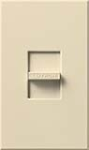 Lutron NF-10-BE Nova 120V / 16A Fluorescent 3-Wire / Hi-Lume LED Single Pole Slide-to-Off Dimmer in Beige