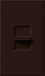 Lutron NF-10-BR Nova 120V / 16A Fluorescent 3-Wire / Hi-Lume LED Single Pole Slide-to-Off Dimmer in Brown