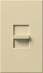 Lutron NF-10-IV Nova 120V / 16A Fluorescent 3-Wire / Hi-Lume LED Single Pole Slide-to-Off Dimmer in Ivory