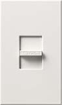 Lutron NF-10-WH Nova 120V / 16A Fluorescent 3-Wire / Hi-Lume LED Single Pole Slide-to-Off Dimmer in White