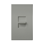 Lutron NRCS-1-GR Nova Remote Control Station in Gray