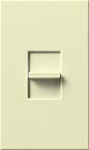 Lutron NT-1000-AL Nova T 1000W Incandescent / Halogen Single Location Slide-to-Off Dimmer in Almond, Matte Finish