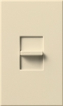 Lutron NTB-1000-BE Nova T 1000W Incandescent / Halogen Omnislide Two Location Slide-to-Off Dimmer in Beige, Matte Finish