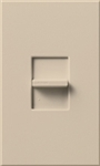 Lutron NTB-1000-TP Nova T 1000W Incandescent / Halogen Omnislide Two Location Slide-to-Off Dimmer in Taupe, Matte Finish