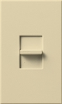 Lutron NTFTU-5A-277-IV Nova T 277V / 5A Fluorescent Tu-Wire Single Pole Slide-to-Off Dimmer in Ivory, Matte Finish