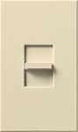 Lutron NTFTV-BE Nova T 16 Amps Fluorescent Single Pole Slide-to-Off Dimmer in Beige, Matte Finish