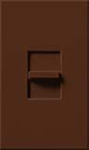 Lutron NTFTV-SI Nova T 16 Amps Fluorescent Single Pole Slide-to-Off Dimmer in Sienna, Matte Finish