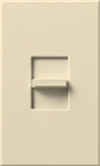 Lutron NTSTV-DV-BE Nova T 8 Amps LED / Fluorescent 0-10 VDC, Line Voltage Single Pole Slide-to-Off Dimmer in Beige, Matte Finish