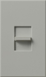 Lutron NTSTV-DV-GR Nova T 8 Amps LED / Fluorescent 0-10 VDC, Line Voltage Single Pole Slide-to-Off Dimmer in Gray, Matte Finish