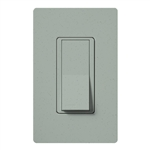 Lutron SC-1PSNL-BG Claro Satin 15A Single Pole Switch with Locator Light in Bluestone