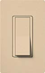 Lutron SC-3PS-DS Claro Satin 15A 3-Way Switch in Desert Stone