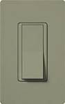 Lutron SC-3PS-GB Claro Satin 15A 3-Way Switch in Greenbriar