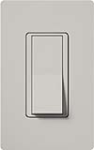 Lutron SC-3PS-PD Claro Satin 15A 3-Way Switch in Palladium