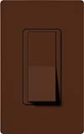 Lutron SC-3PS-SI Claro Satin 15A 3-Way Switch in Sienna