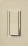 Lutron SC-3PS-ST Claro Satin 15A 3-Way Switch in Stone