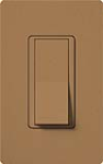 Lutron SC-3PS-TC Claro Satin 15A 3-Way Switch in Terracotta